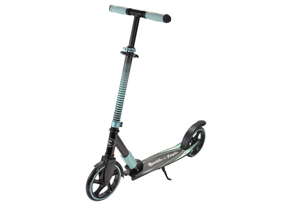 De Scooter Black Racer in de kleur mint.
